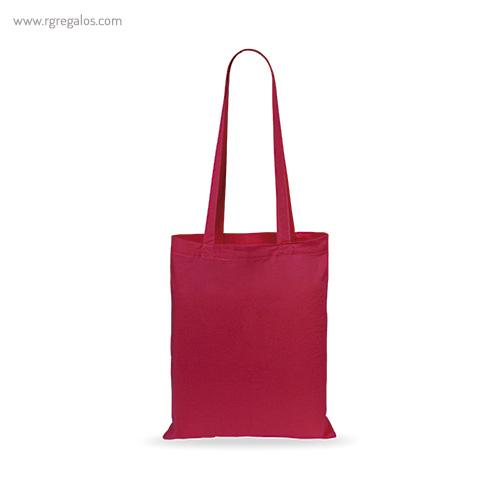 Bolsa 100% algodón barata roja - RG regalos publicitarios