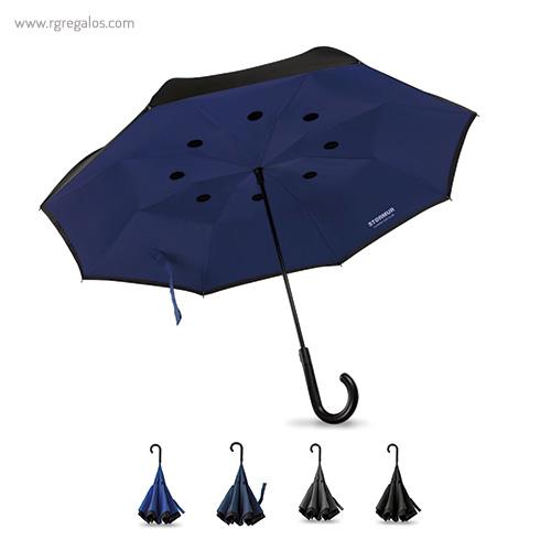 Paraguas reversible doble capa - RG regalos publicitarios