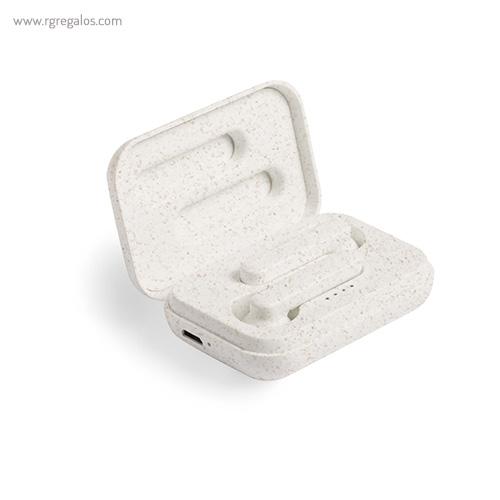 Auriculares inalámbricos caña de trigo caja - RG regalos promocionales