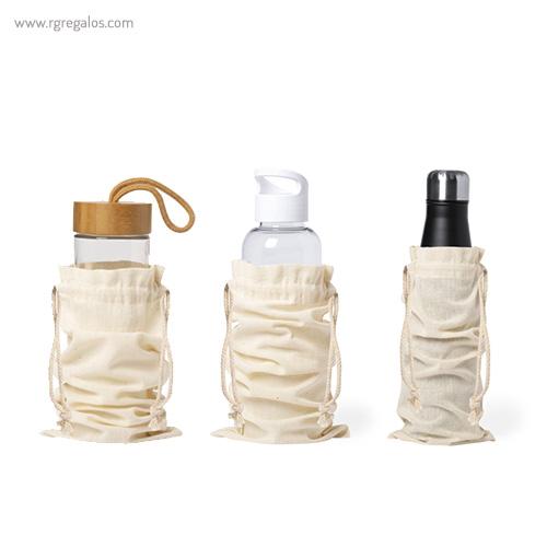 Bolsa algodón para botella - RG regalos personalizados