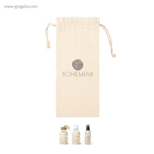 Bolsa algodón para botella - RG regalos promocionales