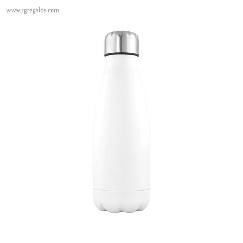 Botella de acero inox de 500 ml blanca - RG regalos publicitarios