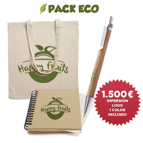 Pack ecológico ferias - RG regalos publicitarios