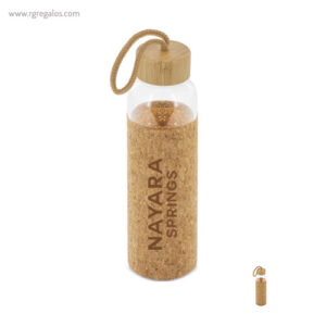 Botella de cristal y corcho de 500 ml - RG regalos publicitarios
