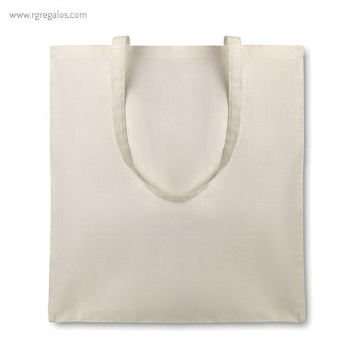 Bolsa algodón orgánico asas largas - RG regalos promocionales