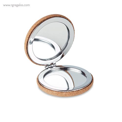 Espejo redondo de corcho - RG regalos promocionales