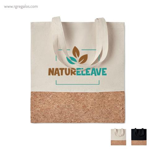 Bolsa combinación corcho y algodón - RG regalos publicitarios