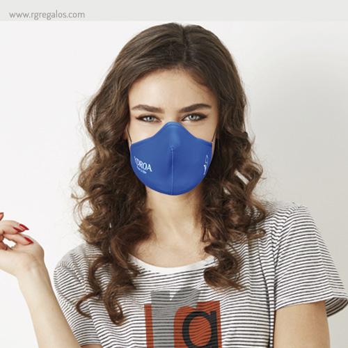 Mascarilla personalizada reutilizable yodra - RG regalos publicitarios