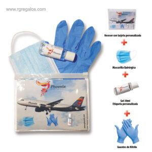 Set higienizante personalizado medium - RG regalos