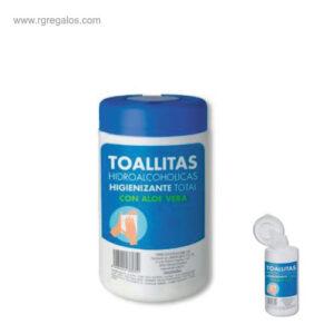 Toallitas hidroalcoholicas- RG regalos promocionales