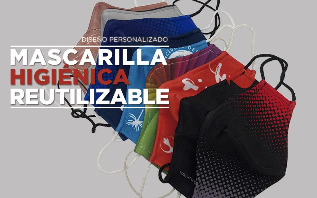 Mascarilla personalizada con clip nasal - RG regalos