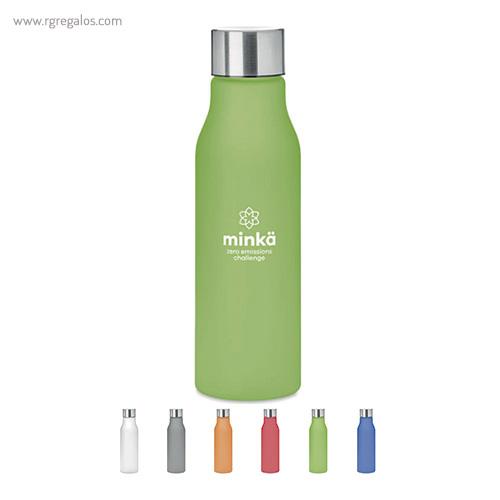 Botella de RPET colores 600 ml - RG regalos