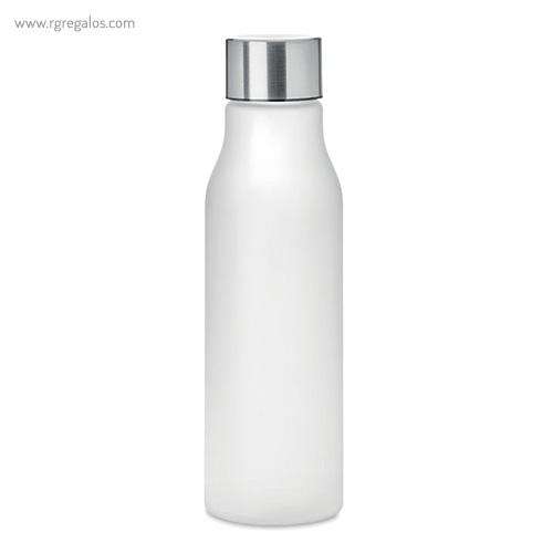 Botella de RPET colores 600 ml transparente - RG regalos