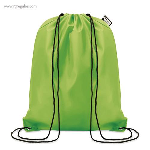 Mochila-saco-de-rpet-190t-verde-RG-regalos