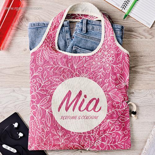 Bolsa algodón totalmente personalizada plegable - RG regalos
