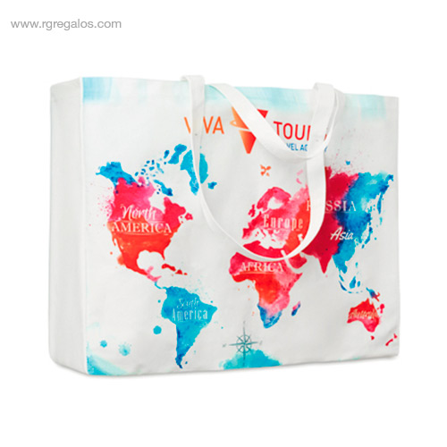 Bolsa algodón totalmente personalizada 4 - RG regalos de empresa