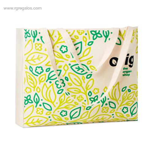 Bolsa algodón totalmente personalizada 5 - RG regalos de empresa
