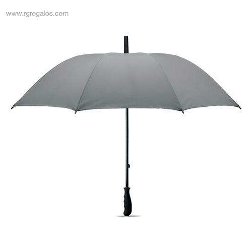 Paraguas poliéster reflectante - RG regalos