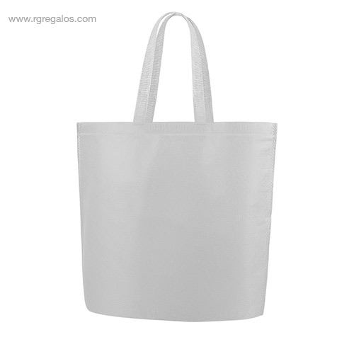 Bolsa RPET con base blanca - RG regalos publicitarios