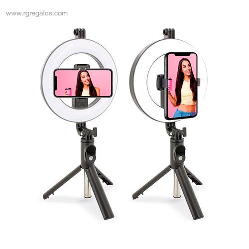 Trípode con luz para selfie - RG regalos promocionales