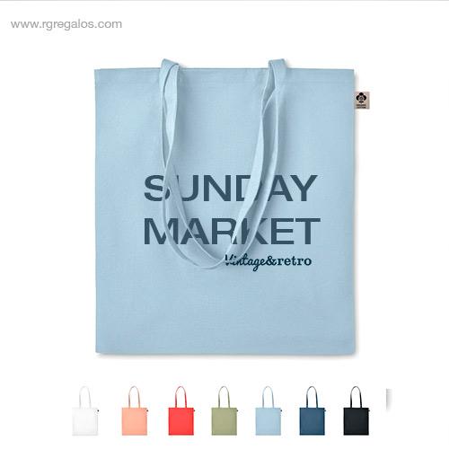 Bolsa algodón orgánico colores - RG regalos