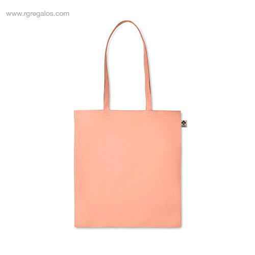 Bolsa-algodón-orgánico-colores-naranja-asas-largas-RG-regalos