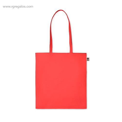 Bolsa-algodón-orgánico-colores-roja-asas-largas-RG-regalos