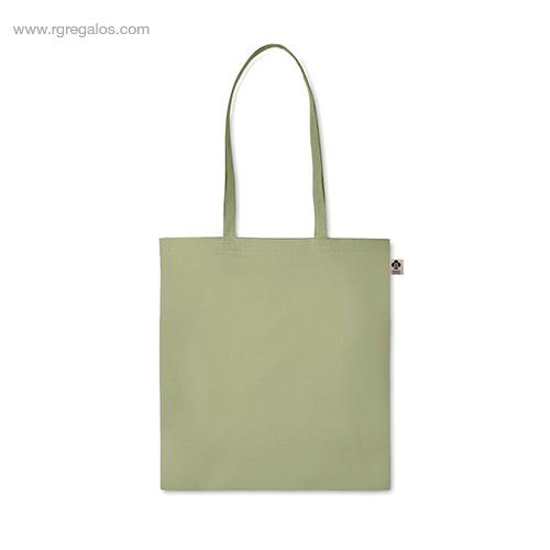 Bolsa-algodón-orgánico-colores-verde-asas-largas-RG-regalos