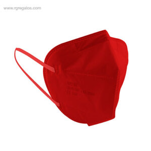 Mascarilla FFP2 roja - RG regalos de empresa