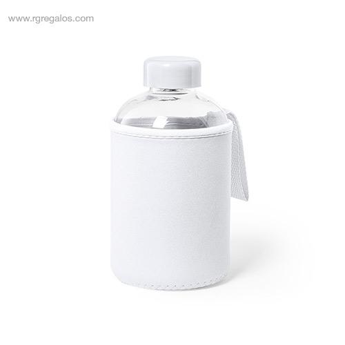 Botella-con-funda-de-neopreno-600-ml-blanca-RG-regalos