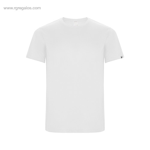 Camiseta técnica eco hombre blanca - RG regalos