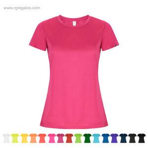 Camiseta técnica eco mujer - RG regalos