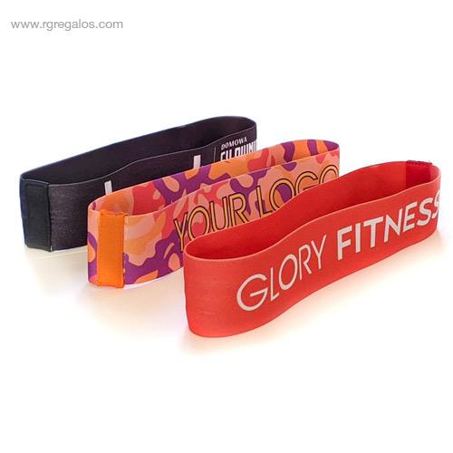 Cinta elástica de fitness - RG regalos publicitarios