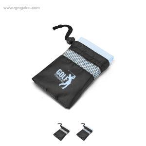 Toalla deportiva con bolsa - RG regalos de empresa
