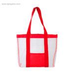 Bolsa de playa de malla roja - RG regalos personalizados