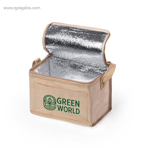 Bolsa-nevera papel-laminado-interior-RG-regalos-publicitarios