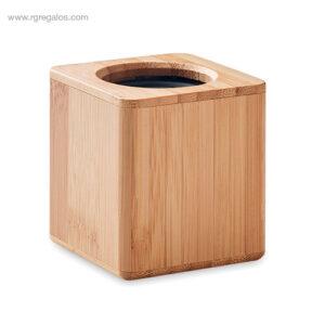 Altavoz-inalámbrico-bambú-RG-regalos promocionales