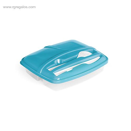 Fiambrera-3-compartimentos azul-RG-regalos
