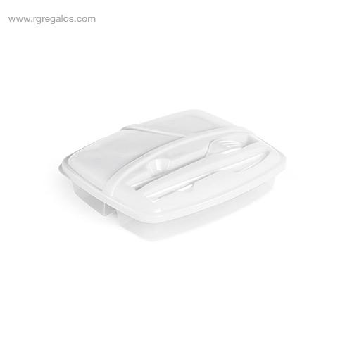 Fiambrera-3-compartimentos blanca-RG-regalos