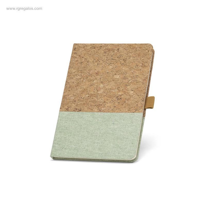 Bloc-notas-corcho-y-lino-verde-RG-regalos