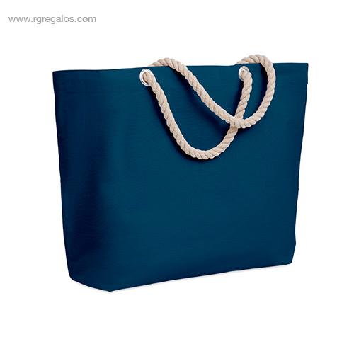 Bolsa-de-playa algodón-azul- RG-regalos