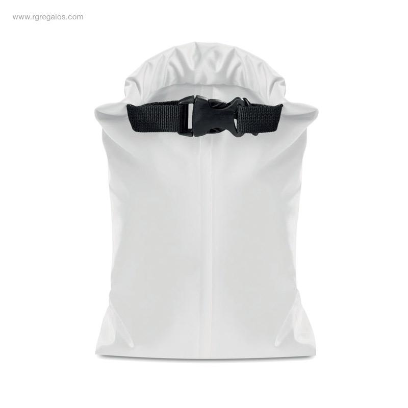 Bolsa-impermeable-blanca-RG-regalos-de-empresa