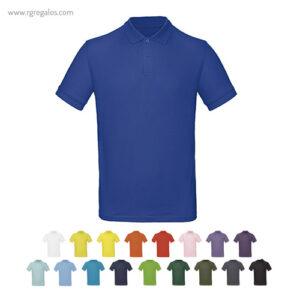 Polo-manga-corta-100%-algodón-RG-regalos