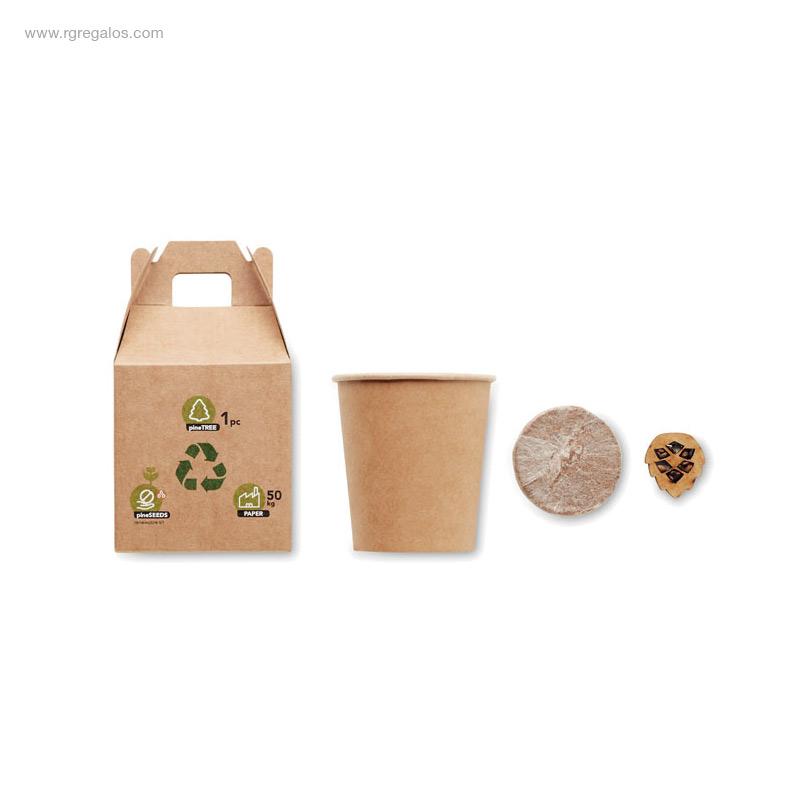 Macetero-cartón-semillas-pino-RG-regalos-publicitarios