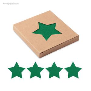 Posavasos-Navidad-fieltro-verde-RG-regalos