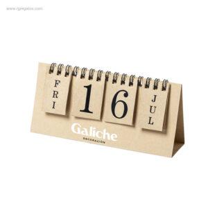 Calendario-cartón-reciclado-perpetuo-logo-RG-regalos