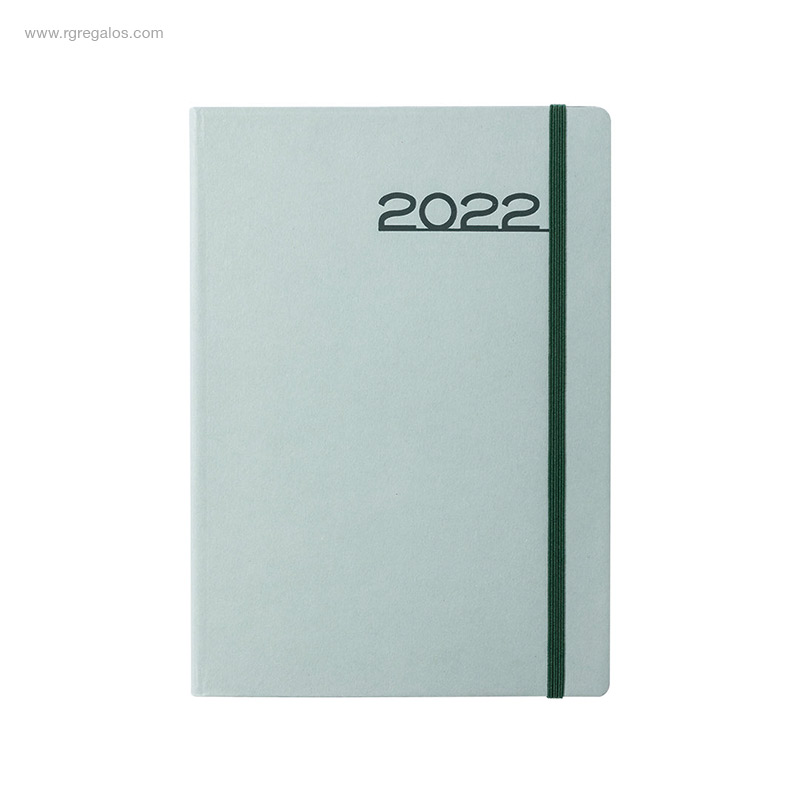 Agenda-2022-cartón-A5-verde-RG-regalos