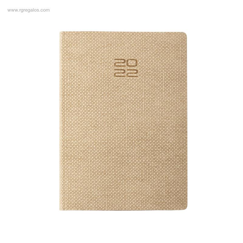 Agenda-2022-cartón-granulado-natural-RG-regalos