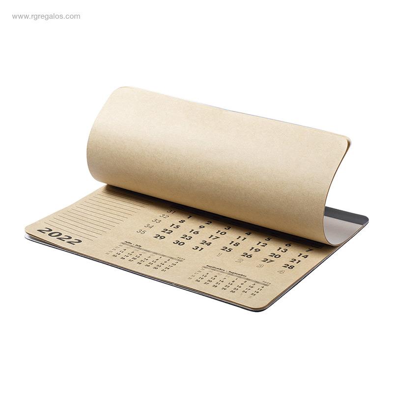Calendario-alfombrilla-papel-reciclado-detalle-RG-regalos