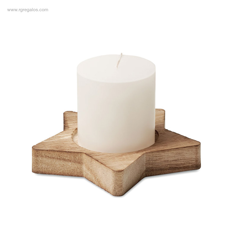 Portavela-estrella-madera-RG-regalos